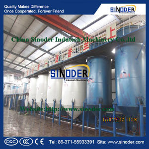 100tpd Sunflower Oil Refinery Plant and Palm Oil Refining Machine and Edible Oil Refining Plant pictures & photos