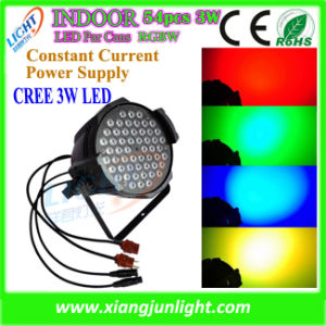 Indoor 54X3w RGBW LED PAR Can Light LED Lighting pictures & photos