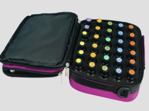 High Quality Large 42 Bottle Essential Oil Carrying Case Aroma Travel Pouch Suppliers