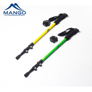 3 Section Aluminum 6061 Flick Lock Trekking Pole (MW1049F1) pictures & photos