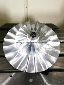 Custom 5 Axle CNC Milling Titanium Turbine Impeller pictures & photos