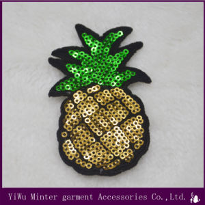 Embroidered Iron On Pineapple Patch Sew On Clothes Bag Jacket Badge Fruit Crafts