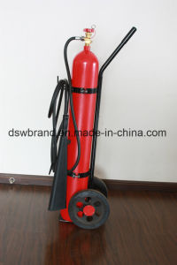 CO2 (Carbon Dioxide) Double Trolley  Fire Extinguisher (25+25) 50 Kg. pictures & photos