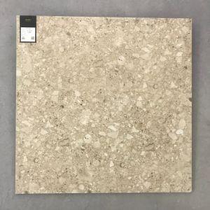 Building Materials Terrazzo Rustic European Style Porcelain Tile  (TER602-BROWN)