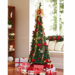 90cm pre lit pop up decorated tree