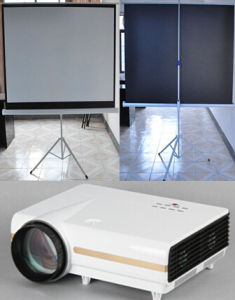 LED Projector LCD Projector with HDMI