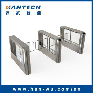 Library RFID Card Reader Intelligent Swing Barrier Turnstile pictures & photos