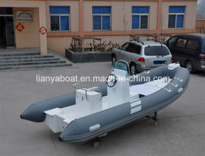Liya CE Certificate 19ft Rib Fiberglass Inflatable Boat Sailing Yachts pictures & photos