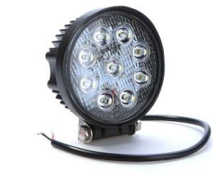 Round 27W LED Work Light for Sale