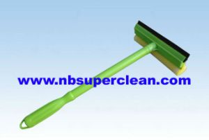 8 Inch Head 43cm Rubber Car Squeegee with Sponge (CN1703) pictures & photos