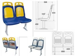 New Plastic Bus Seat of City Bus pictures & photos