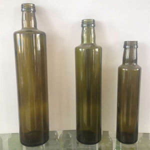 Dark Green 250ml 500ml 750ml 1L Fancy Cooking Olive Oil Glass Bottle Wholesale
