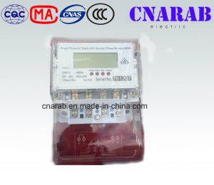 Bangladesh Single Phase AC Static Kwh Netural Missing Meter