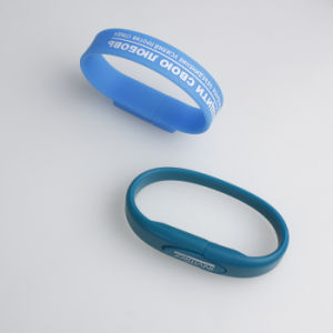 Cheapest Silicone Bracelet USB Flash Drive New pictures & photos