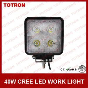 Totron 40W LED Work Light with 10W CREE LEDs IP67