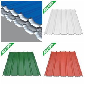4 Layers Glass Fibre Reinforced UPVC Roof Sheet pictures & photos