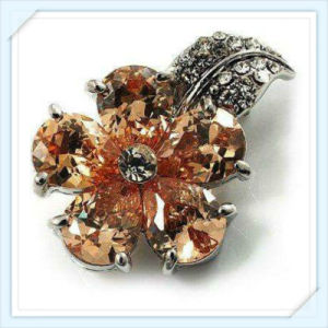 New Design Topaz Glass Stones Fashion Jewelry Brooch