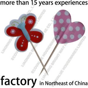 china butterfly cartoon shape flag toothpicks cupcake topper china