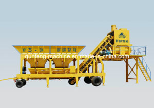 Mobile Concrete Mixing Plant (YHZD25/YHZS50) pictures & photos