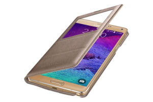 Auto Wakeup/Sleep S View Flip Cover for Samsung Galaxy Note 4