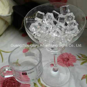 Crystal Acrylic Ice Chips for Bar Decoration