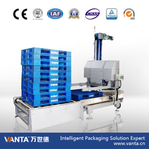 30cpm Automatic Low Level Single Column Mechanical Palletizer