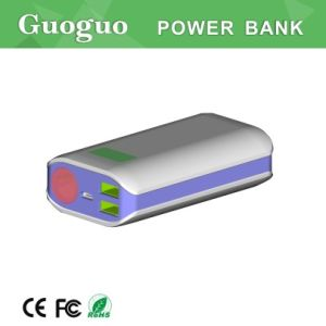 High Power LED Torch Power Bank, Power Bank with LED Screen & Dual Output for iPhone, Samsung