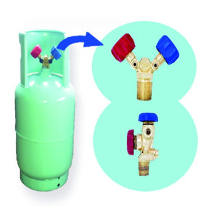 Refrigerant Gas R134A in Refillable Refrigerant Cylinders European Standard Tped /En02A pictures & photos