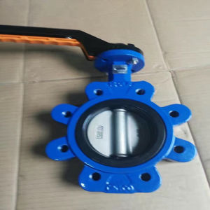 Lug Type Through Shaft with Plastic Handle Butterfly Valve pictures & photos