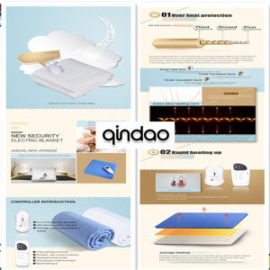 Electric Mattress with Automatic Temperature Sensing System pictures & photos