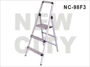 Household/Hotel Aluminum-Alloy Ladder with 3 Steps SGS (NC-98F 3)