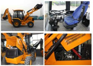 Mini Small 7ton Backhoe Loader with Cummins Engine Best Factory Price pictures & photos