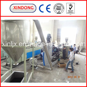 Single Stage PE PP Recycling Granulation Line pictures & photos