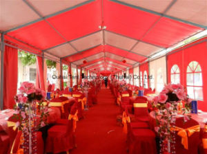 Romantic and Luxury Clear Roof Cover Wedding Marquee in 12m Width