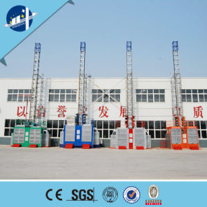 20m-250m Height Sc Series Passenger and Material Hoist/Construction Elevator with Ce Certificate pictures & photos
