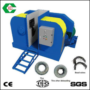 Automatic Both Sides Waste Tire Steel Wire Removal Machine / Tire Bead Remover pictures & photos