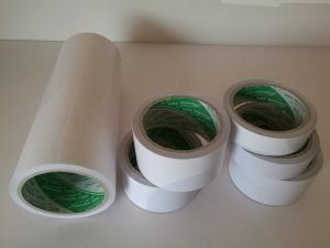 White Cotton Paper Double Sided Adhesive Tape