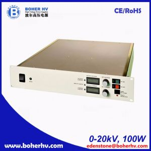 High Power Supply 20kV 100W for Air Purification LAS-230VAC-P100-20K-2U pictures & photos