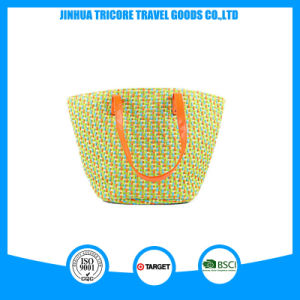 Designed Straw Ladies Shoulder Tote Beach Bag