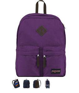 New Fashion Sports School Canvas Backpack Bag