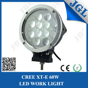 60W CREE LED Auto Light with Chrome Face