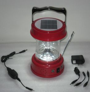 Solar LED Camping Lantern Lamp Light From ISO9001 Factory pictures & photos