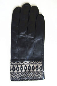 Men′s Fashion Leather Gloves (JYG-24088) pictures & photos