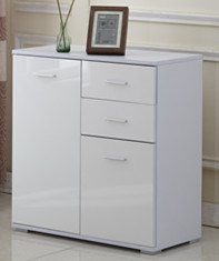 High Gloss 1 Door+3 Drawers Side Cabinet Storage pictures & photos