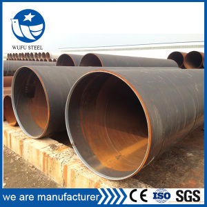 Carbon Welded Black Bared ERW Fluid Pipe Made in China pictures & photos