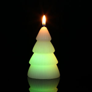 48 PCS Packed LED Color Changing X′mas Tree Wax Magic Candle