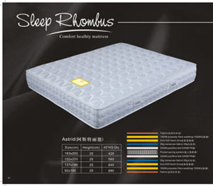 Pocket Spring Mattress/Hotel Mattress/Compress Mattress (FL-028)