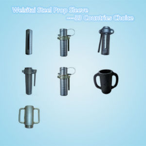 Steel Scaffolding Shoring Prop Sleeve with Prop Nuts (WST177---WST183)