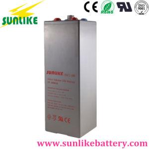 Higher Cycles 2V1000ah Solar Opzv Tubular Gel Battery 25years Life