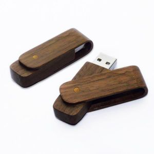 Wooden USB Stick USB Flash Drive (WD-08B) pictures & photos